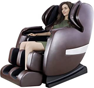 Massage Chair by OOTORI, Deluxe S-Track Recliner with 3D Robot Hand, Zero Gravity Full Body Air Massage, with Stretch Heating Vibrating Function (Pure)