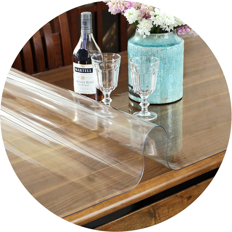 KKCF Chair Mat Transparent PVC half Household Max 73% OFF Cabinet TV Plastic