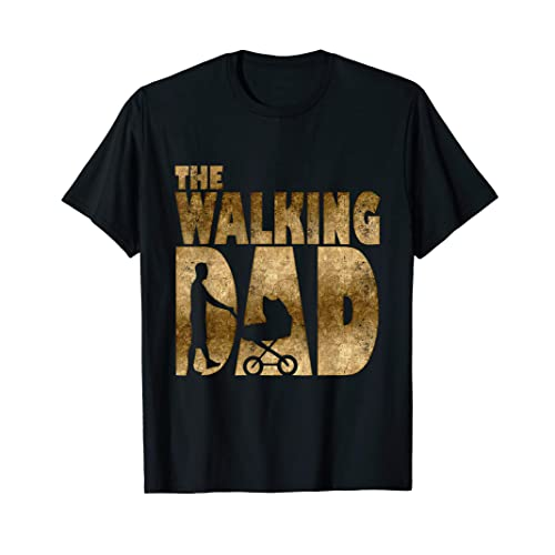 4f7511ca0529b Mens Walking Dad T-Shirt for New Fathers Day Christmas Gift Shirt