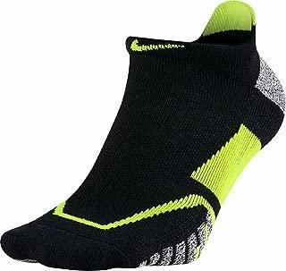 Nike NIKEGRIP Elite No Show Tennis Socks Black/Volt/Volt No Show Socks Shoes