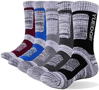 ZHANGNUO, 5 Pares De Calcetines Gruesos Cálidos Y Transpirables Cómodos De Negocios para Hombres Calcetines Gruesos para Hombres Calcetines De Vestir