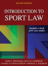 Introduction to Sport Law With Case Studies in Sport Law PDF