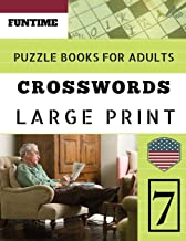 Crossword puzzle books for adults large print: Funtime Crosswords Easy Magic Quiz Books Game for Adults   Large Print (Find a Word for Adults & Seniors) (Telegraph Daily mail Quick Crossword Puzzle)