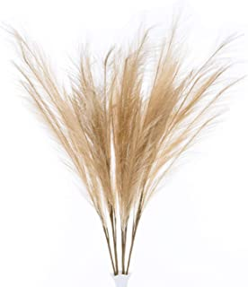UiiziC Artificial Flowers Large Ascendant Grass Fake Flowers Grass for Wedding Bouquets Home Party Hotel Centerpieces Deco...