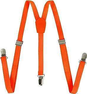 紧身背带 - 纯色 Y 形背带可调节弹性肩带 - 1.27 cm 宽 CoverYourHair