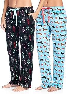 Ashford & Brooks Women's Plush Mink Fleece Pajama Sleep Pants