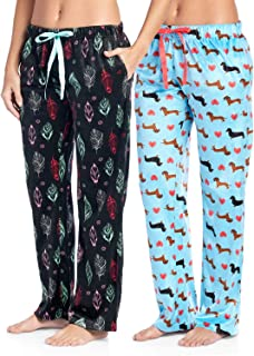 Women's Plush Mink Fleece Pajama Sleep Pants