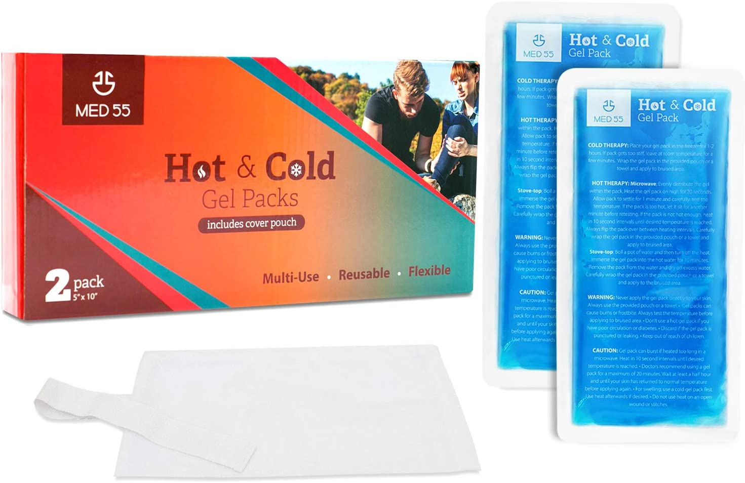 Gel Japan's largest assortment Ice Pack for Injuries Hot Topics on TV - Reusable Compres Cold