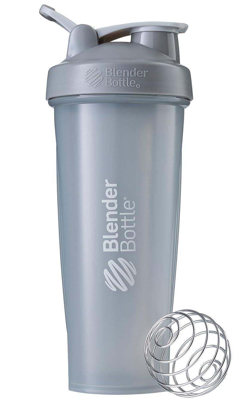 戻す住所思慮のないBlenderBottle Classic ブレンダーボトル クラシック Shaker Bottle 32-Ounce Loop Top PEBBLE GREY CLSC32LOOP