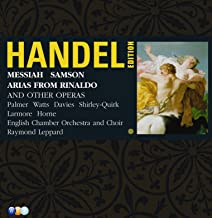 Handel Edition Volume 4 - Samson, Messiah & Arias From Rinaldo, Serse Etc