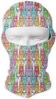 Gomop Ski Cap Colorful Alpaca Full Face Mask Hunting Cycling Masked Hoods Hat