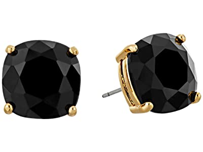 Kate Spade New York Small Square Studs (Jet) Earring