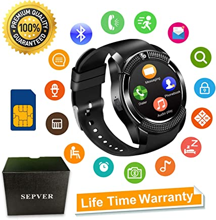 Smart Watch SN08 Smart Watches Round with Touch Screen...