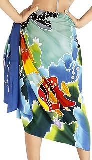 LA LEELA Robe Affaire /écharpe Rayonne Serviette Batik Plage par/éo