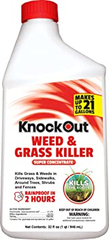 Knockout Concentrate Weed and Grass Killer