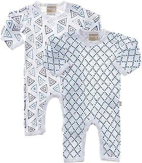 Babyushka Shibori Organic Long Sleeve Jumpsuit, 0, 2 Count