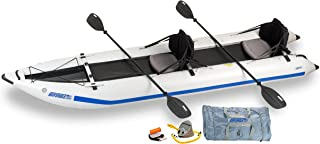 Sea Eagle 435 Paddle Ski Catamaran Inflatable Kayak with Pro Package