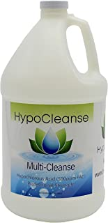 Hypochlorous Acid 500 PPM For Dental And Medical Professionals (1 Gallon) All Natural HOCl Non-Toxic Safe For ULV Foggers