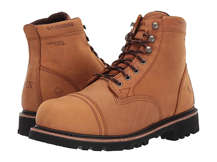 Wolverine  Journeyman 6 Boot (Sawdust) Mens Work Lace-up Boots
