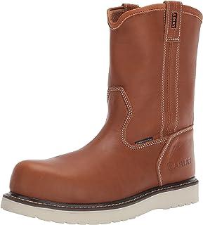 حذاء برقبة رجالي سهل الارتداء من Ariat Work مصنوع من نسيج ريبار سميك عند الأصابع