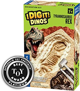 Thames & Kosmos I Dig It! Dinos T. Rex Excavation Science Experiment Kit | Excavate a Tyrannosaurus Rex Dig Site | Paleont...