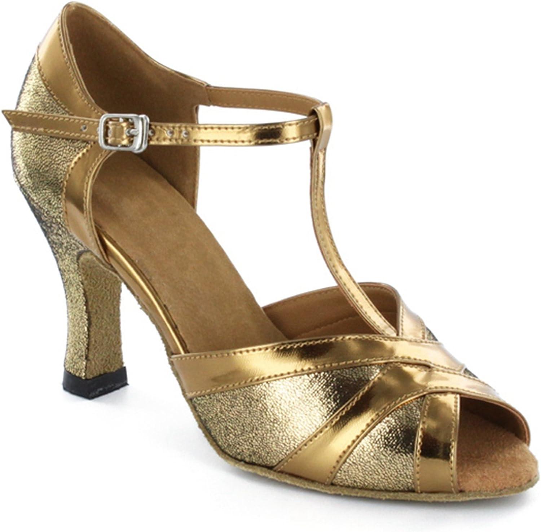 TDA Women's Dance Collection 3 inch Heels Salsa Tango Ballroom Latin shoes