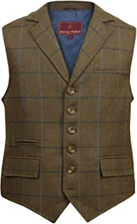 HIDEPARK Bodmin: Men's Tweed Waistcoat
