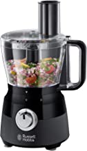 Russell Hobbs RHFP5BLK, Desire Food Processor, Dishwasher Safe with 2 Speed Settings and Pulse, Matte Black