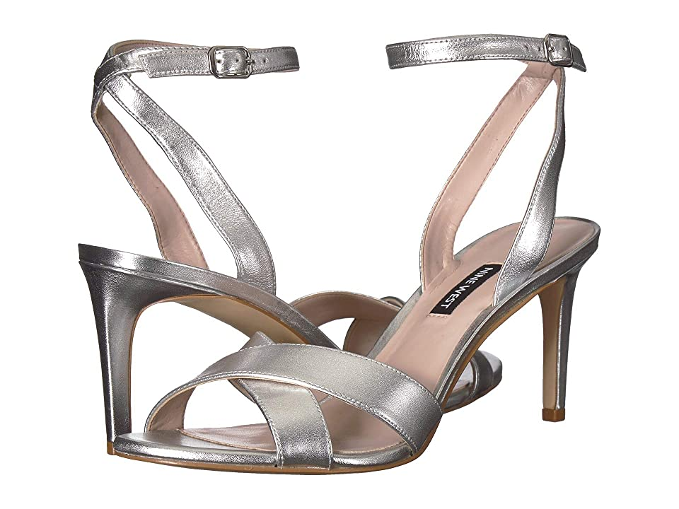Nine West Apryle (Silver Metallic) Women