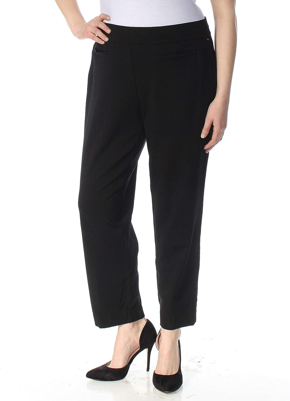 NINE WEST Women's Plus Size Light Weight Compression Ponte Pant