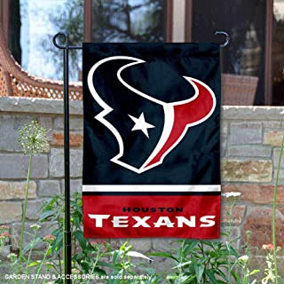 WinCraft Houston Texans Double Sided Garden Flag