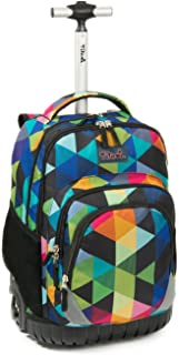 Rolling Backpack Armor Luggage School Travel Book Laptop 18 Inch Multifunction Wheeled Backpack Students
