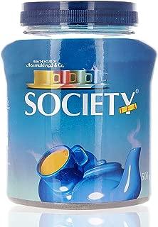 Society Leaf Tea Jar, 500 gm