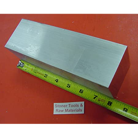 2 Pieces of 1 X 1 Square Aluminum BAR 12 Long .07//-0 6061 General Purpose Plate,T6511 Solid New Mill Stock