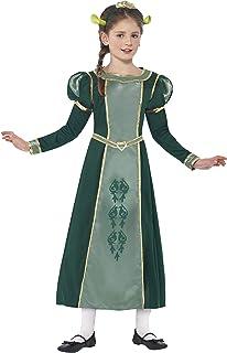 Smiffy's - Disfraz princesa Fiona de Shrek, color verde (