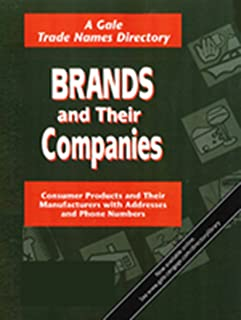 Brands and Their Companies: 2 Volume Set in 6 Parts