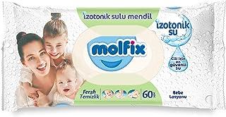 Molfix Ferah Temizlik İzotonik Sulu Islak Havlu, 60 Yaprak