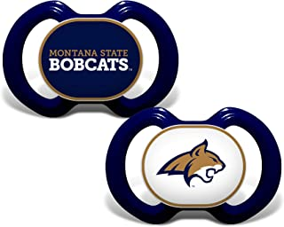 Baby Fanatic Ncaa Legacy Infant Pacifiers, Montana State Bobcats, 2 Pack