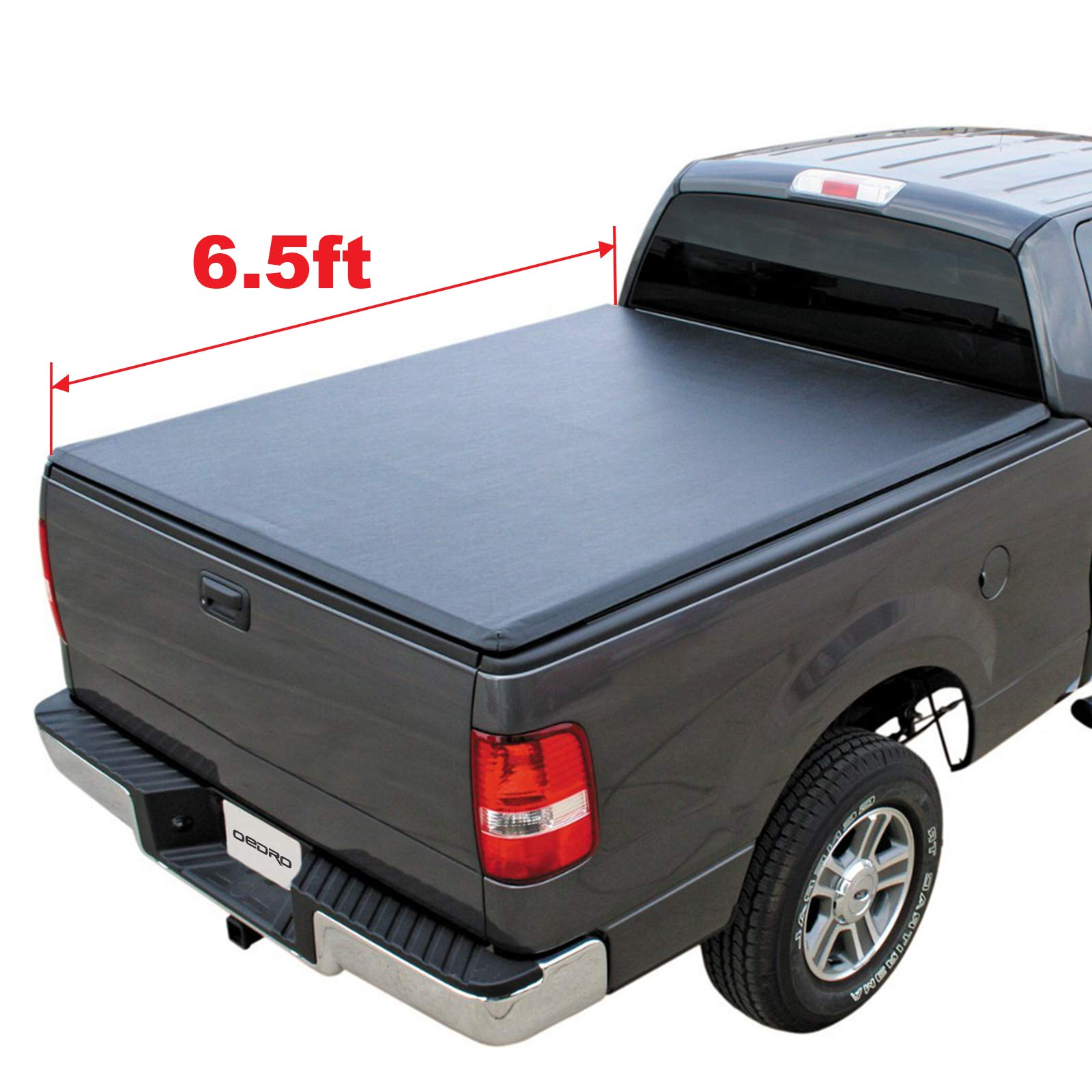 Oedro Tri Fold Truck Bed Tonneau Cover Compatible With 2002 2020 Dodge Ram 1500 2003 2018 Dodge Ram 2500 3500 Fleetside 6 5 Feet Bed For Models Without Ram Box Buy Online In India At Desertcart