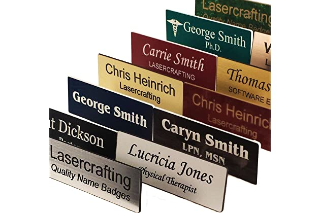 Best magnetic name tags for work | Amazon com