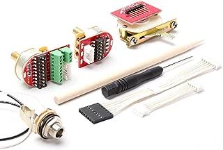 ToneShaper NextGen Wiring Kit, Solder-Free, NG01 w/ 4-Way Switch (Tele & Many Other Guitars, 2 Controls)