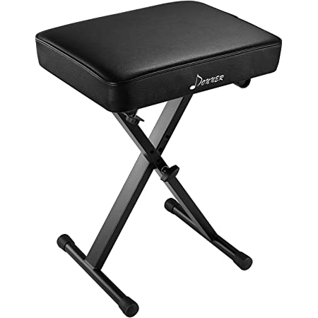 Amazon Com Yamaha Pkbb1 Adjustable Padded Keyboard X Style Bench Black 19 5 Inches Musical Instruments