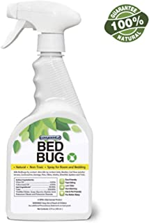 COSYWORLD Bed Bug, Dust Mite & Lice Spray Killer - Fast and Sure Kill with Extended Residual Protection, Natural Non-Toxic, Child & Pet Friendly-22 oz