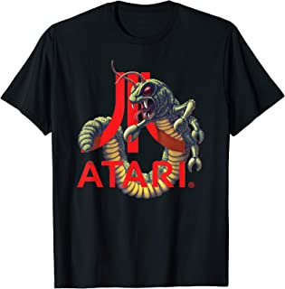 Atari Logo With Centipede Arcade Game T-Shirt