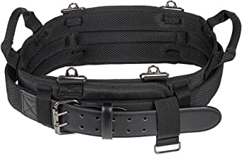 Klein Tools 55918 Tool Belt, Electrician Tool Belt for use with Modular Pouches from Klein Tools Click Lock Modular System, Size M