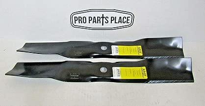 XHT 2 USA Made Blades Compatible with John Deere M170639 X350 X354 X370 Z335E Z335M X330 Z345M