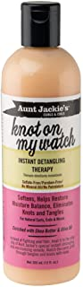 Aunt Jackie's Knot On My Watch, Instant Leave-in Detangling Therapy, Great for Hard to Manage Hair, Enriched with Shea But...