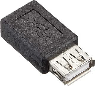 エスエスエーサービス [ microUSB 変換コネクタ ] microUSB(メス)-USB・A(メス) SMCF-UAF