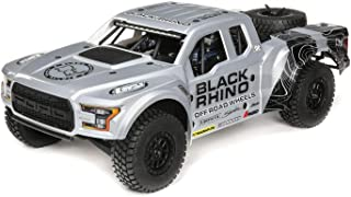 Losi 1/10 Ford Raptor Baja Rey 4WD RC Desert Truck BL 2.4GHz RTR with DX2E 2.4GHz Radio System (LiPo Battery and Charger Sold Separately): Black Rhino, LOS03020T2