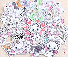 Aristocats Lot de 4 Serviettes pour Enfant 100/% Coton Rouge Fuchsia Lady 30 x 30 cm 30 x 30 cm Marie